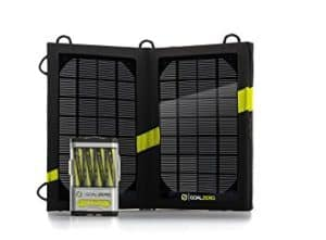 power your solar generator with solar power anywhere