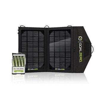 The Nomad 7 Solar Kit is great for an adventure