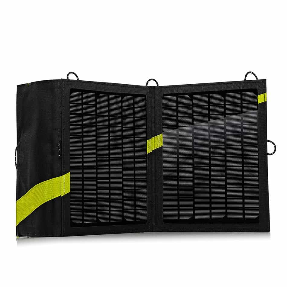 The Nomad 13 is a quality solar panel for the outdoors