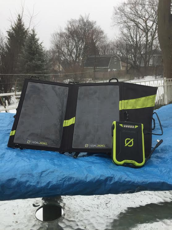 The Venture 30 Solar Kit includes all that you need on your next hike