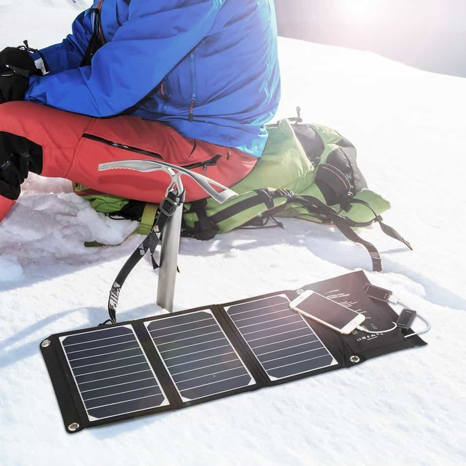 Portable solar panels are essential for the outdoors