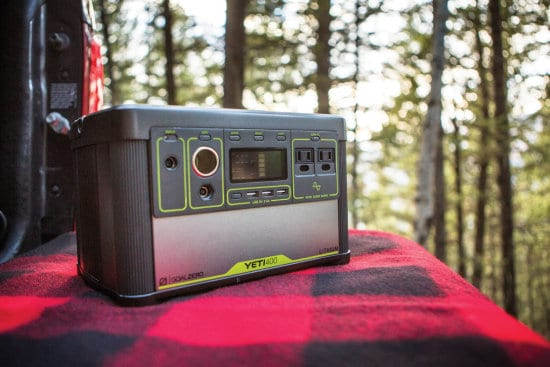 The goal zero portable solar generator is an effective camping investment