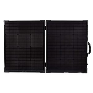 Large foldable solar panel front view