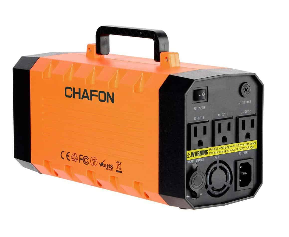 The Chafon 288Wh generator is a key asset to have in the wilderness