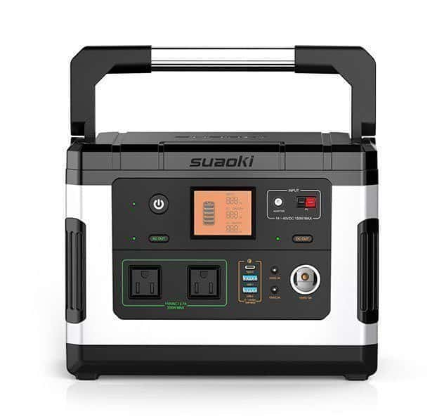 The Suaoki G500 features an LCD display