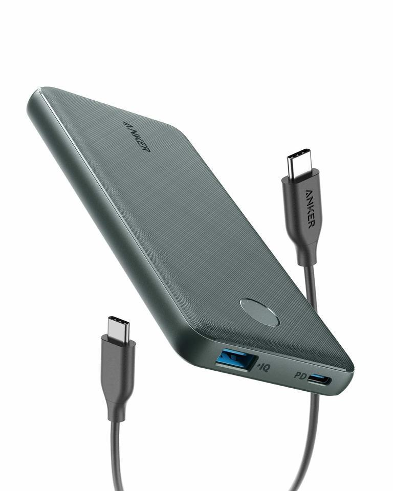 Anker PowerCore Slim 10000 PD with cable