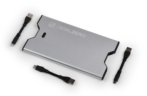 Goal Zero Sherpa 40 power bank with external connectors