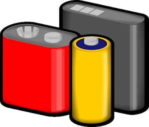 Animation of batteries