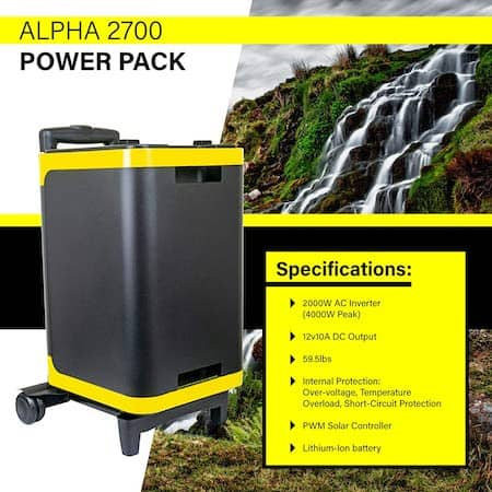 ExpertPower Alpha2700 specifications