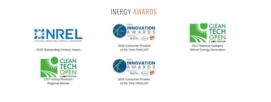 Awards that Inergy has received as a company