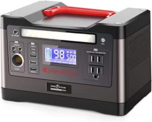 Rockpals 540Wh generator front view