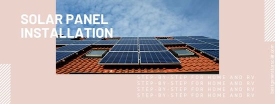 Solar panel installation cover image