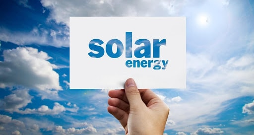 """""""solar energy"""" written out animation"""