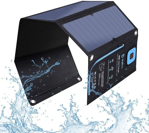 BigBlue 28W Solar Charger front view