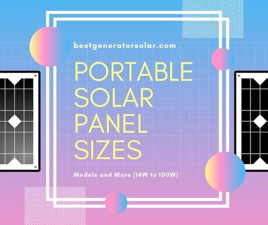 Portable Solar Panel Sizes article cover