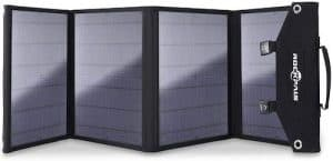 rockpals 100W solar panel front