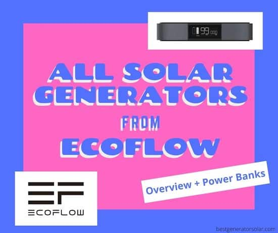Solar generators from EcoFlow cover image
