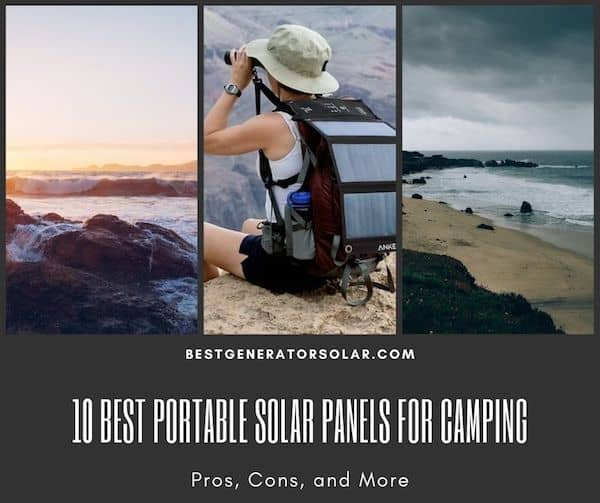 10 Best Portable Solar Panels for Camping - Pros, Cons, and More cover image