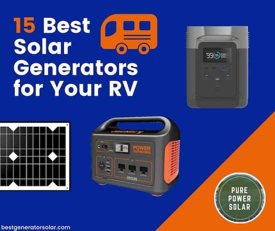 15 Best Solar Generators for Your RV cover image