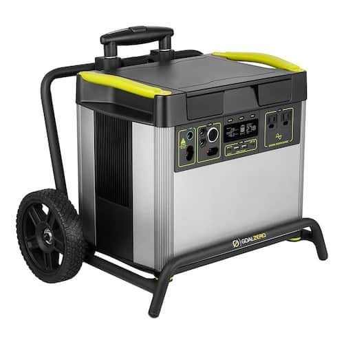 YETI 3000X with roll cart