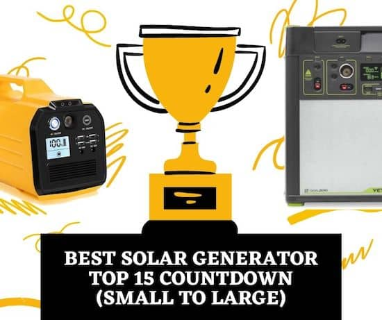 Best Solar Generator - Top 15 Countdown (Small to Large) cover image