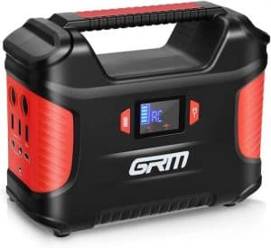 GRM Portable Power Station front view