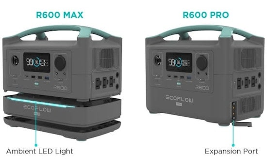 EcoFlow R600 Max and R600 PRO