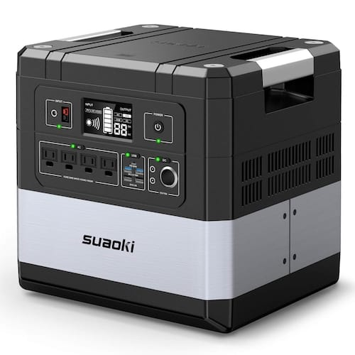 Front view of Suaoki G1000