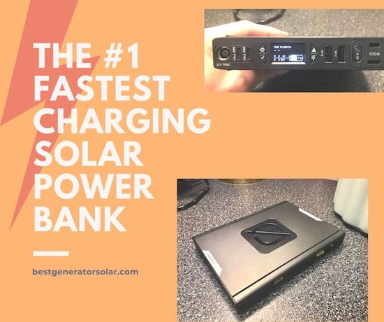 The #1 Fastest Charging Solar Power Bank cover image