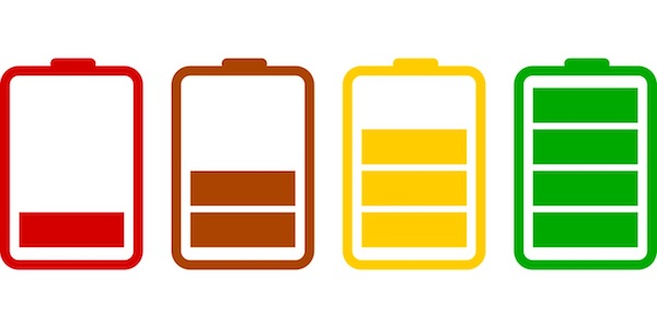 battery charging animation