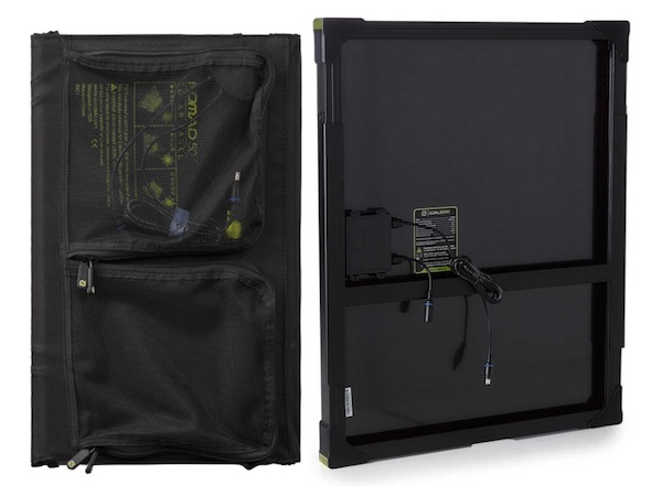 Nomad 50 and Boulder 50 back sides
