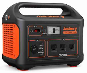 Jackery Explorer 1000 front tilted small