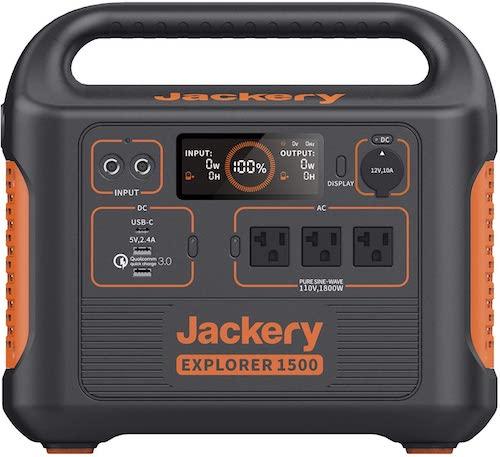 Jackery Explorer 1500 front