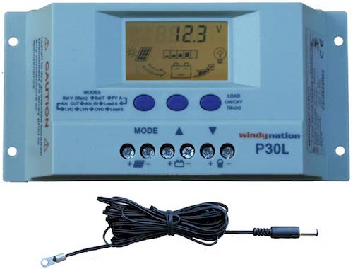WindyNation charge controller