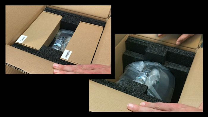 OUPES unboxing packaging